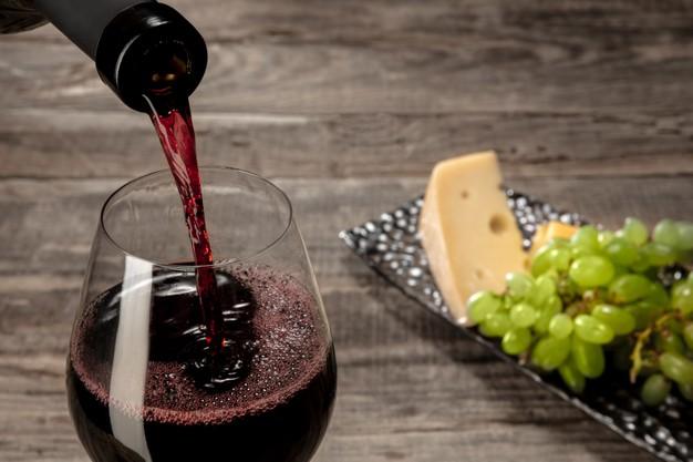rød vin